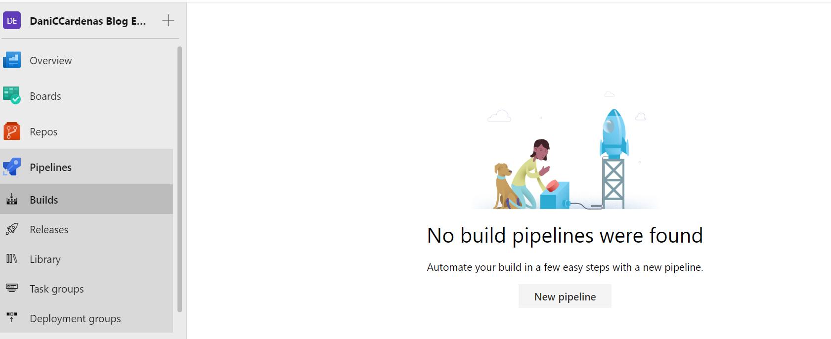 DevOps con Azure DevOps(III) - Crear una Build