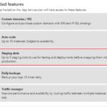 Como desplegar un Azure App Service sin tiempos de caída