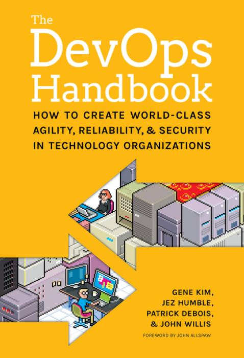 Portada libro The DevOps Handbook